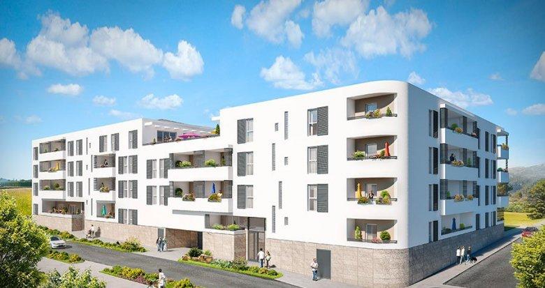 Achat / Vente programme immobilier neuf Cuges-les-Pins à l'entrée de la ville (13780) - Réf. 1319
