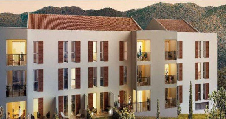 Achat / Vente programme immobilier neuf Cuges-Les-Pins proche parc de loisirs (13780) - Réf. 3821