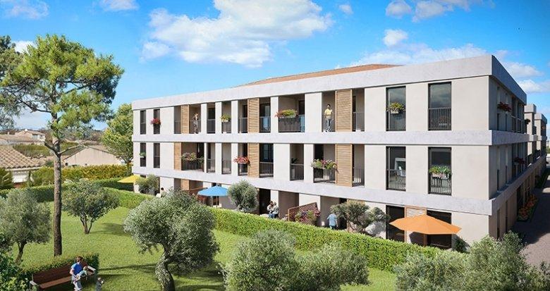 Achat / Vente programme immobilier neuf Eyguières au coeur des Alpilles (13430) - Réf. 551