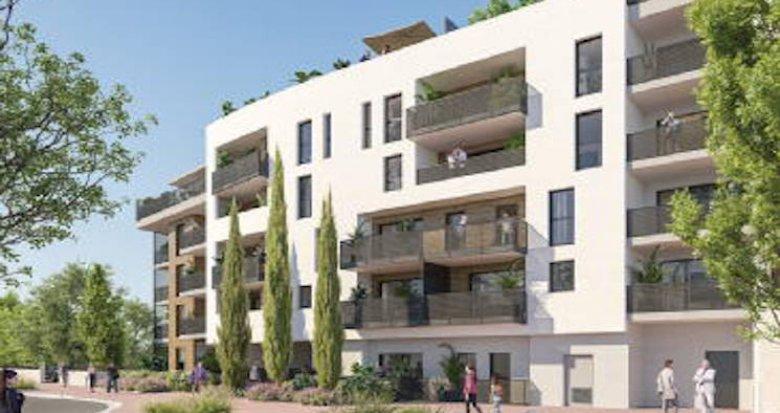 Achat / Vente programme immobilier neuf Gardanne au coeur d'un écrin de nature proche commerces (13120) - Réf. 5235