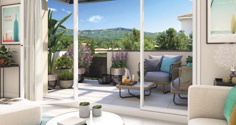 Achat / Vente programme immobilier neuf Gardanne proche coeur de ville (13120) - Réf. 3751