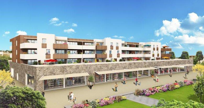 Achat / Vente programme immobilier neuf Gignac la Nerthe au cœur d'un village provençal (13180) - Réf. 1044