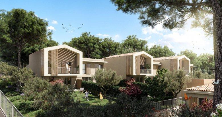 Achat / Vente programme immobilier neuf La Ciotat au coeur d'un cadre naturel préservé (13600) - Réf. 6177