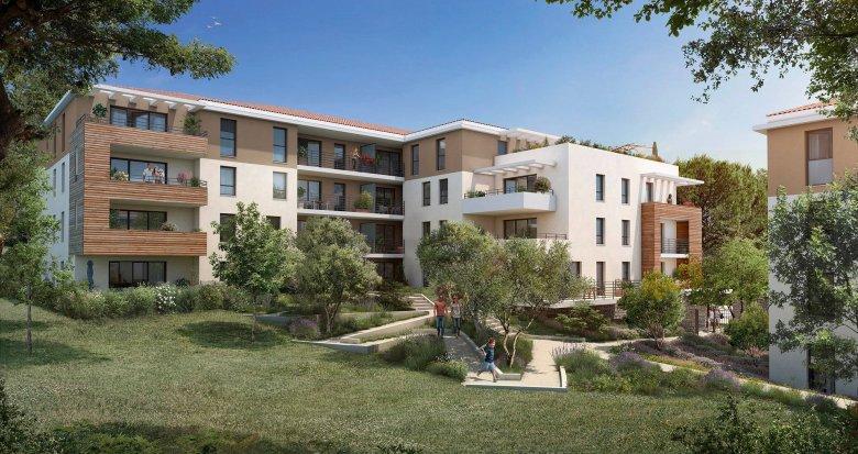 Achat / Vente programme immobilier neuf Luynes proche centre-ville et commerces (13090) - Réf. 6184