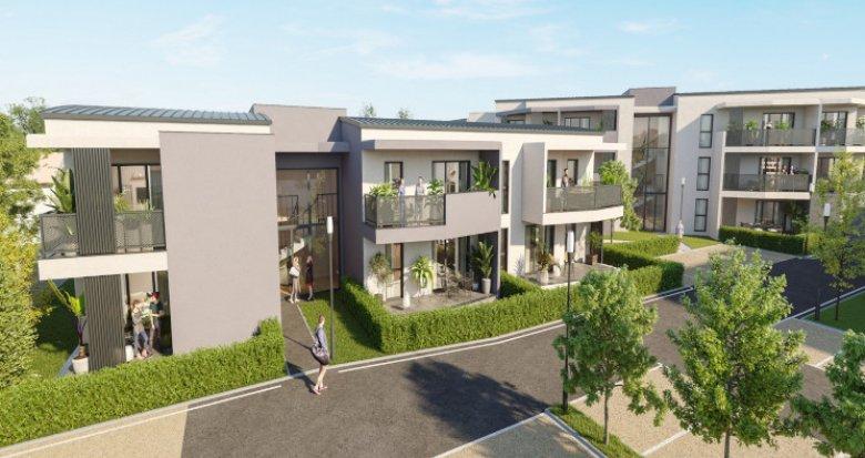 Achat / Vente programme immobilier neuf Marignane proche du canal du Rove (13700) - Réf. 5393