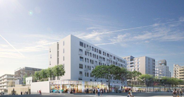 Achat / Vente programme immobilier neuf Marseille 01 proche parc Longchamp (13001) - Réf. 641