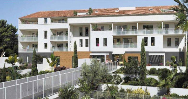 Achat / Vente programme immobilier neuf Marseille 08 à 300 mètres des plages (13008) - Réf. 2866
