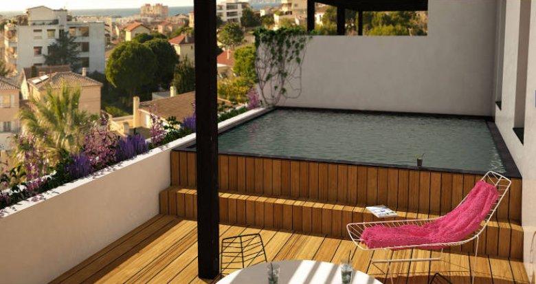 Achat / Vente programme immobilier neuf Marseille 08 secteur de la vieille chapelle (13008) - Réf. 5395
