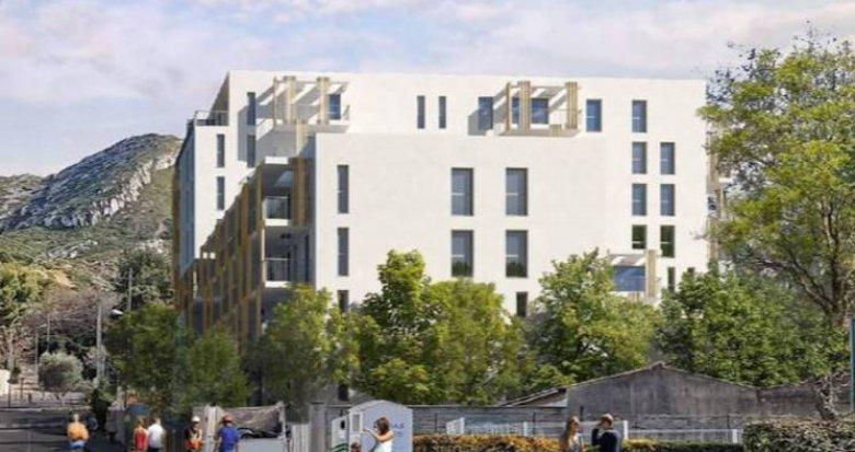 Achat / Vente programme immobilier neuf Marseille 10 collines Saint Tronc (13010) - Réf. 4850