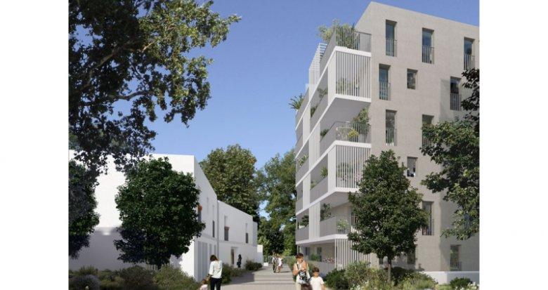 Achat / Vente programme immobilier neuf Marseille 10 proche du centre commercial Bleu Capelette (13010) - Réf. 1376