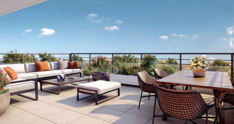 Achat / Vente programme immobilier neuf Marseille 10 proche parc boisé (13010) - Réf. 5047