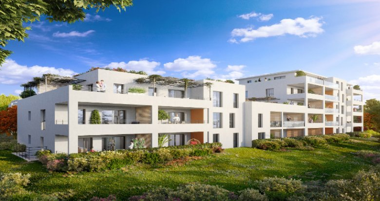 Achat / Vente programme immobilier neuf Marseille 11 au calme en plein cœur du village (13011) - Réf. 3320