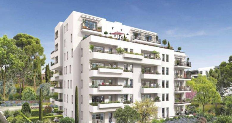 Achat / Vente programme immobilier neuf Marseille 11 au cœur d'un parc privé (13011) - Réf. 3466