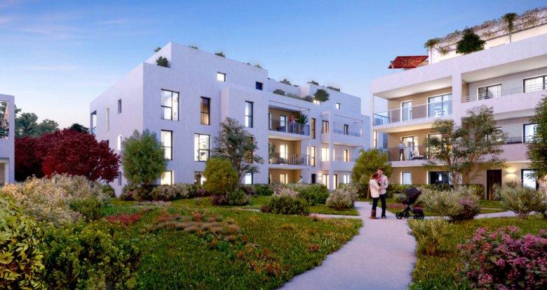 Achat / Vente programme immobilier neuf Marseille 11e proche zone commerciale La Valentine (13011) - Réf. 3690