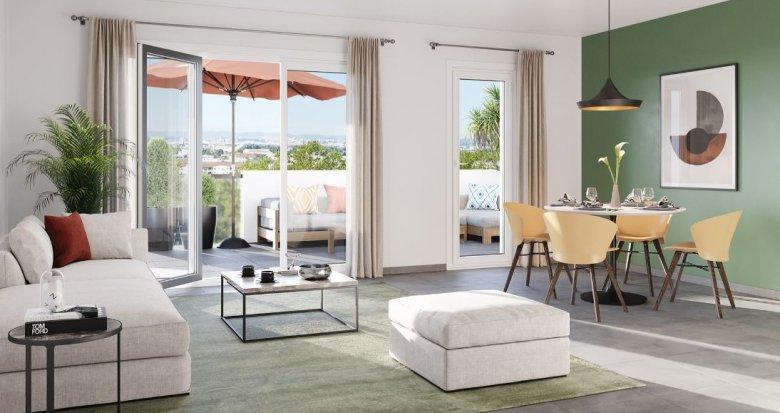 Achat / Vente programme immobilier neuf Marseille 12 au cœur du village de St Barnabé (13012) - Réf. 5004