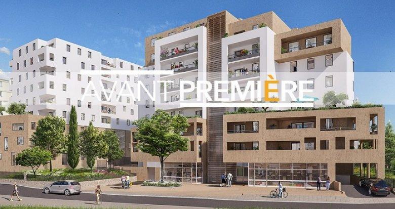 Achat / Vente programme immobilier neuf Marseille 12 proche boulevard des Fauvettes (13012) - Réf. 3408