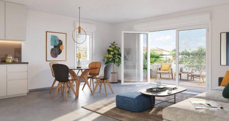 Achat / Vente programme immobilier neuf Marseille 13 petite copropriété en pleine nature (13013) - Réf. 4970