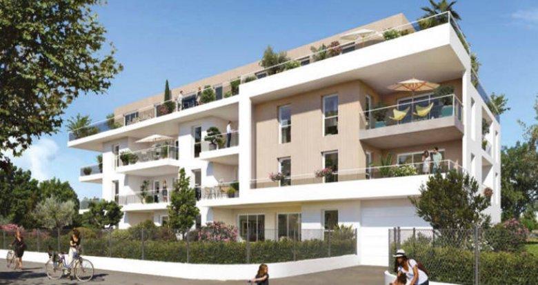 Achat / Vente programme immobilier neuf Marseille 13 petite copropriété proche du métro (13013) - Réf. 4939