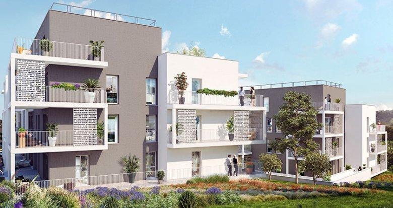 Achat / Vente programme immobilier neuf Marseille 13e proche des transports en commun (13013) - Réf. 1860