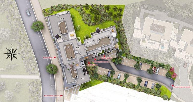 Achat / Vente programme immobilier neuf Marseille 14 dans l'écoquartier des Hauts de Saint-Marthe (13014) - Réf. 1321