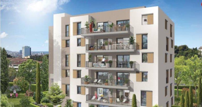 Achat / Vente programme immobilier neuf Marseille 14 secteur Saint-Jérôme (13014) - Réf. 2730