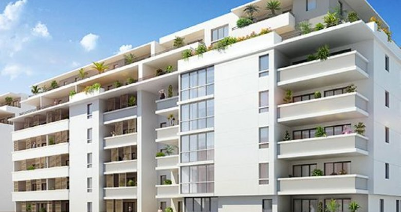 Achat / Vente programme immobilier neuf Marseille 15 proche pôle Euromed2 (13015) - Réf. 297
