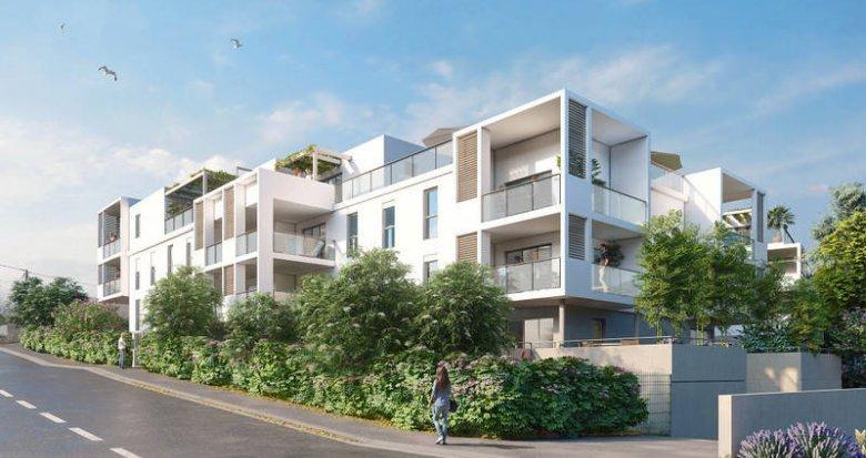 Achat / Vente programme immobilier neuf Marseille 16 sur les hauteurs de l'Estaque (13016) - Réf. 6264