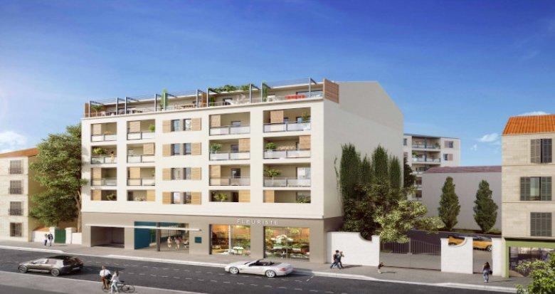 Achat / Vente programme immobilier neuf Marseille 4 Blancarde résidence Intimiste (13004) - Réf. 3007