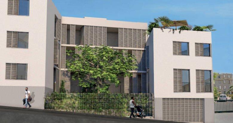 Achat / Vente programme immobilier neuf Marseille 4ème au pied du Palais Longchamp (13004) - Réf. 5742