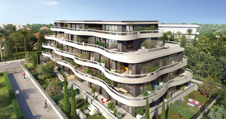 Achat / Vente programme immobilier neuf Marseille 8 à deux pas du parc Borély (13008) - Réf. 1551