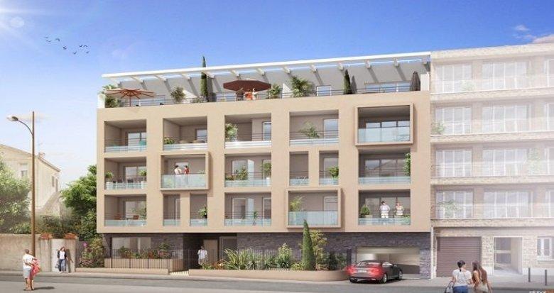 Achat / Vente programme immobilier neuf Marseille 8 secteur prisé résidentiel (13008) - Réf. 817