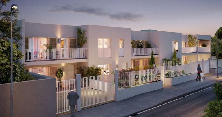 Achat / Vente programme immobilier neuf Marseille 9 à deux pas du Parc de la Maison Blanche (13009) - Réf. 6205