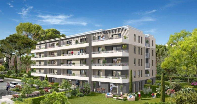 Achat / Vente programme immobilier neuf Marseille 9 secteur Mazargues calme -TVA 5,5% (13009) - Réf. 4747