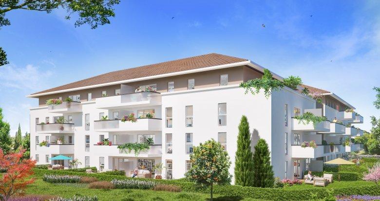 Achat / Vente programme immobilier neuf Marseille à 1 minute du bus (13013) - Réf. 3876