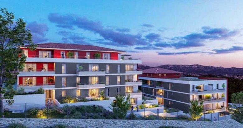 Achat / Vente programme immobilier neuf Marseille les 3 Lucs résidence intimiste (13012) - Réf. 5724