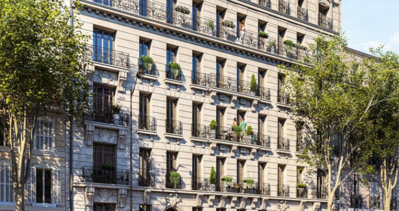 Achat / Vente programme immobilier neuf Marseille proche gare Saint-Charles (13001) - Réf. 5189