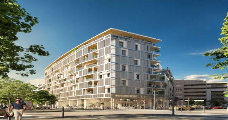 Achat / Vente programme immobilier neuf Marseille proche plage du Prado (13006) - Réf. 2913