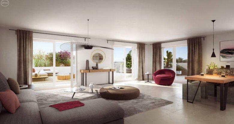 Achat / Vente programme immobilier neuf Marseille quartier calme de Mazargues (13009) - Réf. 4989