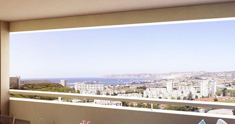 Achat / Vente programme immobilier neuf Marseille quartier Saint-Louis (13015) - Réf. 1639