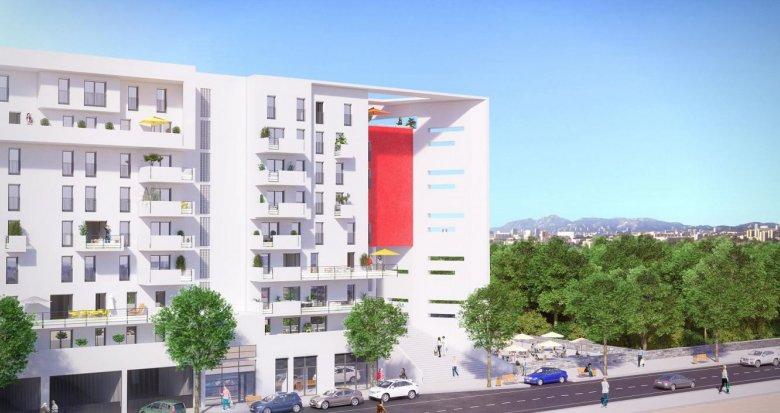 Achat / Vente programme immobilier neuf Marseille quartier Saint Loup (13010) - Réf. 1371