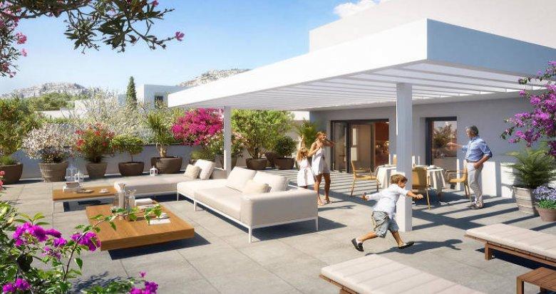 Achat / Vente programme immobilier neuf Marseille secteur Sormiou (13009) - Réf. 4112
