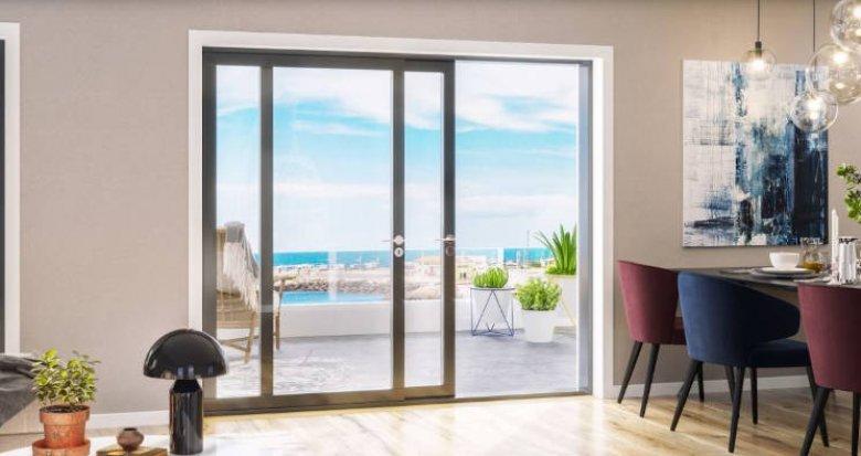 Achat / Vente programme immobilier neuf Martigues secteur Carro vue mer (13500) - Réf. 5461