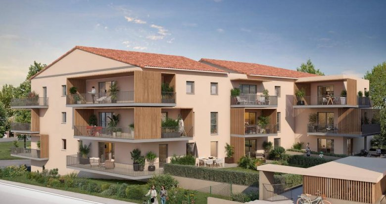 Achat / Vente programme immobilier neuf Meyrargues à 5 minutes de la gare (13650) - Réf. 6259