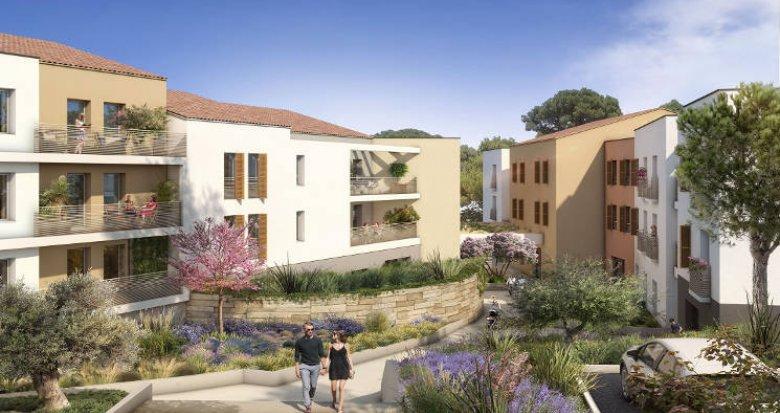 Achat / Vente programme immobilier neuf Meyreuil aux portes d'Aix-en-Provence (13590) - Réf. 4393