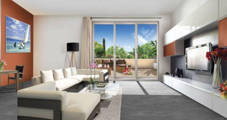 Achat / Vente programme immobilier neuf Miramas centre-ville médiathèque (13140) - Réf. 3455