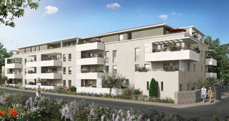 Achat / Vente programme immobilier neuf Pélissanne à 10 min de Salon-de-Provence (13330) - Réf. 5997