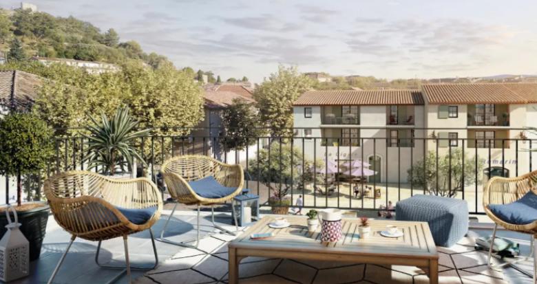 Achat / Vente programme immobilier neuf Rognes en plein centre du village (13840) - Réf. 5160