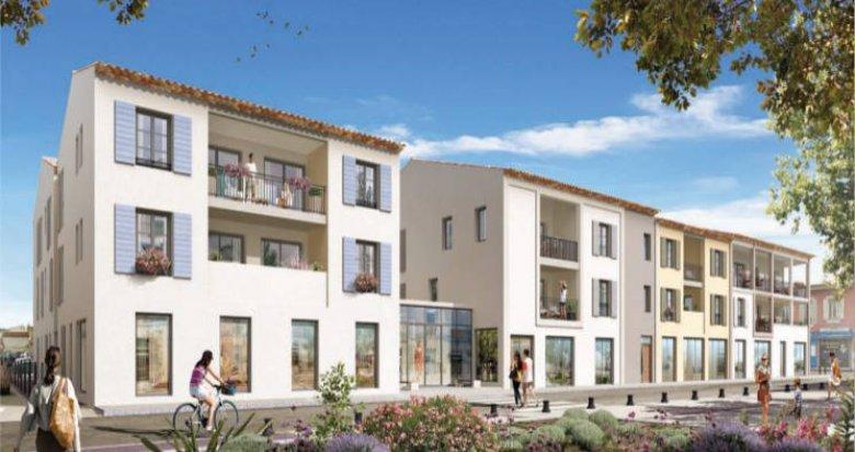 Achat / Vente programme immobilier neuf Roquefort-la-Bédoule au coeur du centre (13830) - Réf. 5154