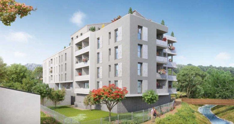 Achat / Vente programme immobilier neuf Roquevaire au bord de l'Huveaune (13360) - Réf. 2626