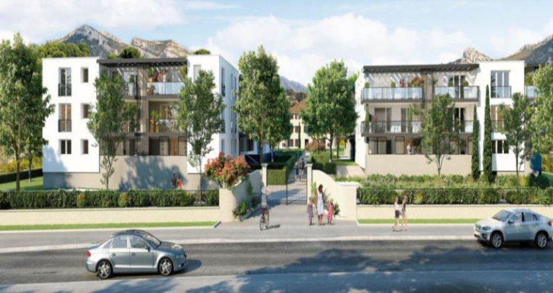 Achat / Vente programme immobilier neuf Roquevaire secteur Saint-Roch (13360) - Réf. 2932